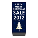 HAPPY MERRY CHRISTMAS SALE 2012 エアポップサイン